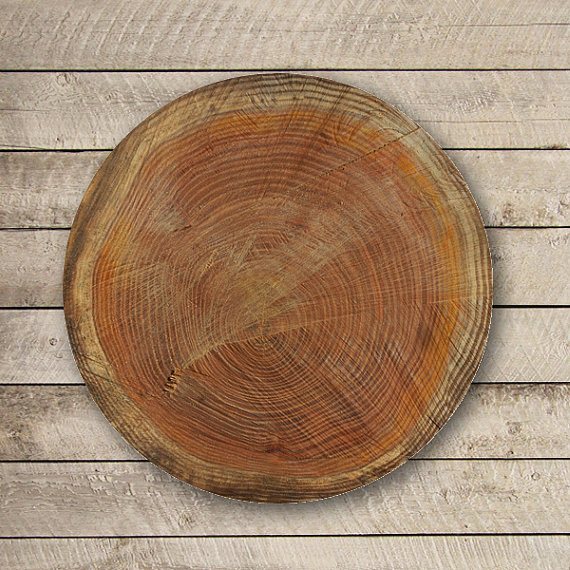 Brown LOG WOOD Vintage Mouse Pad Antique Wooden Printed MousePad Circle Accessory Mat Personalized Gift Desk Deco Computer Love Boss Gift#2-19