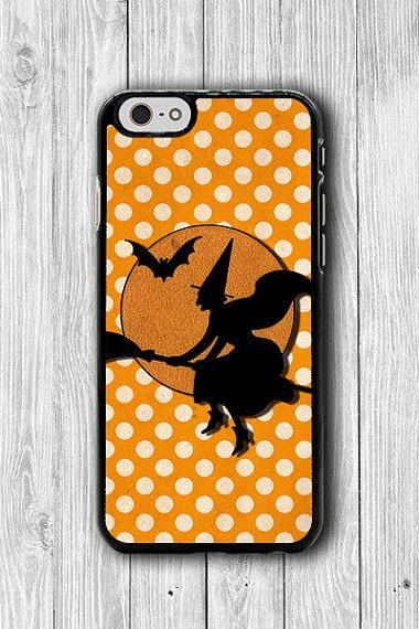 Funny Halloween Orange Polka dot Classic Witch on Bloom iPhone Case, iPhone 6 Case, iPhone 6 Plus, iPhone 5 5S iPhone 4 4S Accessories Gift Ask a Question ฿608.37 THB