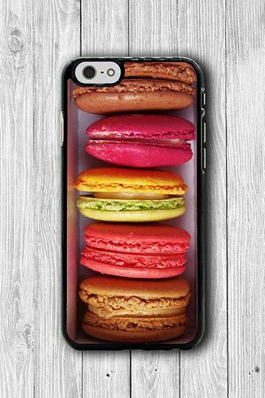 Color Sweet MACAROON Dessert iPhone Cases, Cute iPhone 6 Cover, iPhone 6 Plus, iPhone 5 Hard Case, Soft Silicon, Plastic Accessories Gift #38