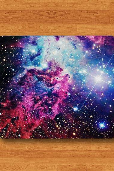 Nebula Galaxy Hipster Teen Dark Space Mouse Pad MousePad Office Desk Deco Work Pad Mat Rectangle Electronics Pad Christmas Gift For HIM#2-30