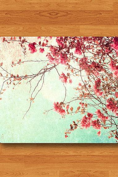SAKURA Japan Autumn Forest Floral Mouse Pad Desk Pad Fabric Flower Symbol MousePad Personalized Rectangle Pad Matte Office Gift Computer Pad#2-33