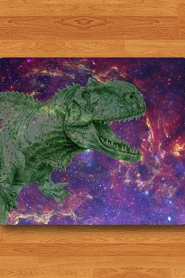 Dinosaur Galaxy T-REX Mouse Pad Tyrannosaurus Rex Realistic Drawing MousePad Dino Computer Work Pad Mat Personalized Hipster Mouse Gift#2-54