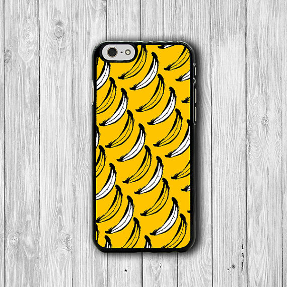 Tropical iPhone 6 Case Funny Yellow Banana Peeled Cartoon iPhone 6 Plus, iPhone 5S, iPhone 5 Case, iPhone 5C Case, Fruit iPhone 4/4S Case #28